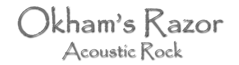 Okhams Razor - Acoustic Rock